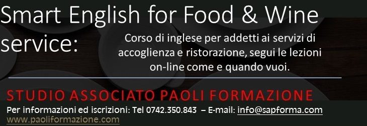 Smart English for Food & Wine service