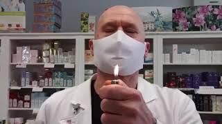La prova del fuoco: ovvero come accertare se la tua mascherina è efficace