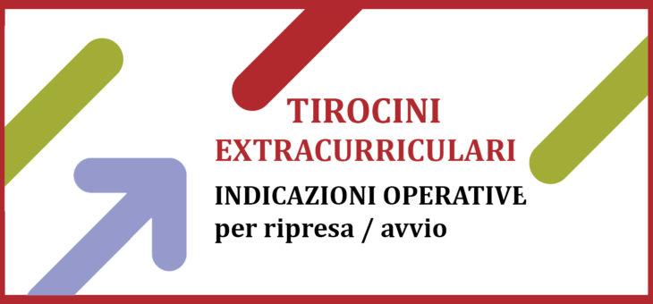 Ripresa tirocini extracurriculari