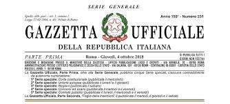 Il Decreto Sostegni pubblicato in Gazzetta